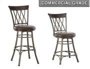 "Bali Swivel Bar Chair, 19""x17""x 48"" Product Image"