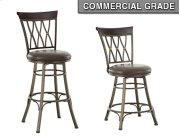 "Bali Swivel Bar Chair, 19""x17""x 48"" Product Image"