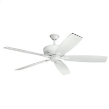"Monarch 70"" Collection 70 Inch Monarch Ceiling Fan WHT"