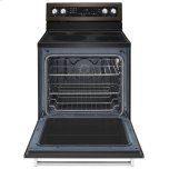 Kitchenaid 30-Inch 5-Element Electric Convection Range - Black Stainless Steel With Printshield™ Finish