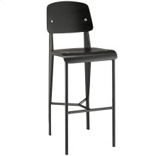 Cabin Bar Stool in Black Black