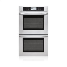"""4.7(x2) cu.ft. Capacity 30"""" Built-in Double Wall Oven with LCD Display and Crisp Convection"""