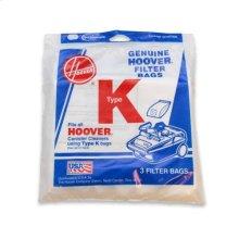 Type K Bag - 3 pack
