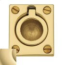 Non-Lacquered Brass Flush Ring Pull Product Image