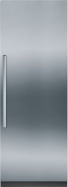 "Benchmark Series Custom Panel Built-In 30"" Single Door Refrigerator Product Image"