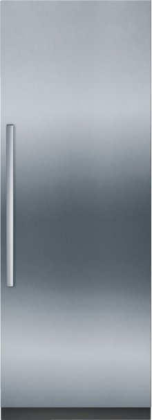 "Benchmark Series Custom Panel Built-In 30"" Single Door Refrigerator"