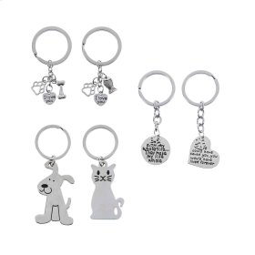 18 pc. ppk. Pet Key Chains