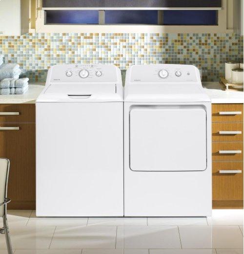 Hotpoint® 6.2 cu. ft. Capacity aluminized alloy Electric Dryer