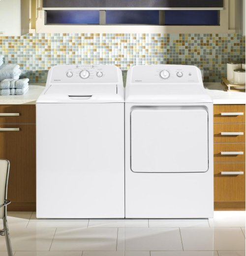 Hotpoint® 3.8 DOE cu. ft. Capacity Washer with Stainless Steel Basket