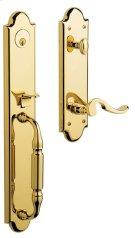 Lifetime Polished Brass Devonshire Handleset Product Image