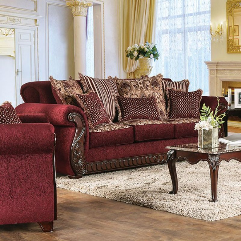 Sm6110sf In By Furniture Of America In Waterbury Ct Tabitha Sofa