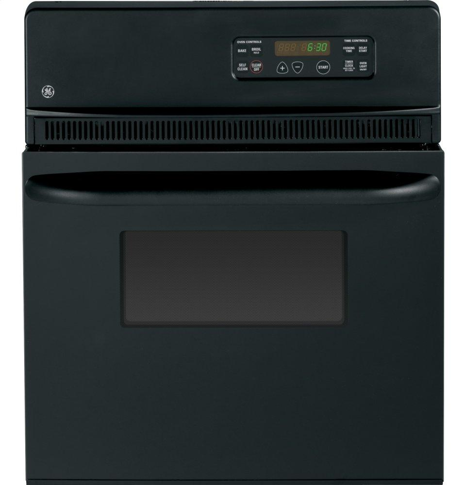 "GE(R) 24"" Electric Single Self-Cleaning Wall Oven
