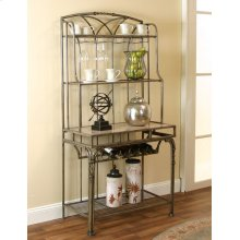 Mila-antique Taupe Bakers Rack Rta