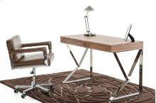 Modrest Ferris Modern Walnut Office Desk