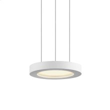 Chromaglo Bright White LED Round Pendant