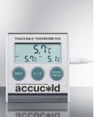 Traceable Thermometer With Nist Calibrated Temperature Readout To the Nearest Tenth of A Degree Product Image