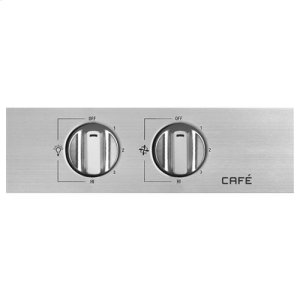 """Café 48"""" Stainless Steel Professional Hood"""