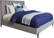 Leah Upholstered Bed (Queen)