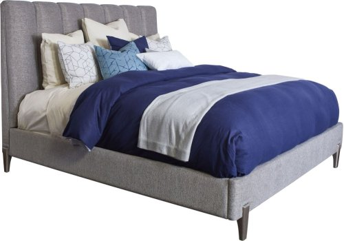 Leah Upholstered Bed (Cal. King)