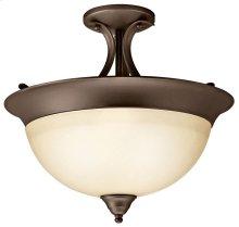 Dover 3 Light Semi Flush Olde Bronze®