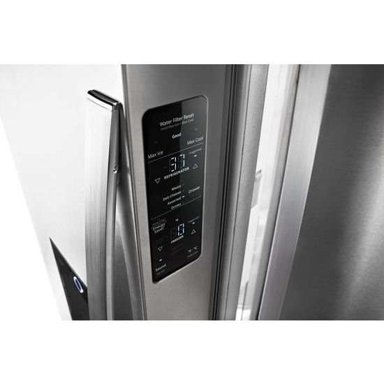 Charmant Whirlpool® 36 Inch Wide French Door Within Door Refrigerator With Cold Space