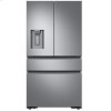 """Dacor 36"""" Counter Depth French Door Bottom Freezer, Silver Stainless Steel"""