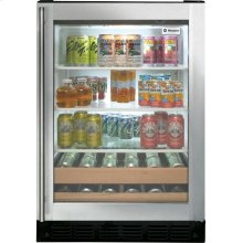 ZDBR240PBS - GE Monogram® Stainless Steel Beverage Center