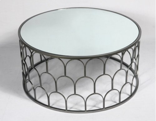 Emerald Home T412-00 Loxton Coffee Table, Mirror