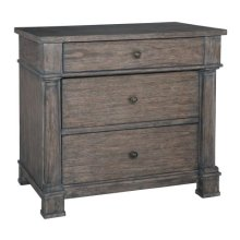 Lincoln Park Three Drawer Night Stand