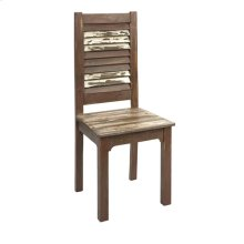 Bandcroft Distressed Wood Dining Chair