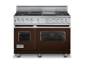 "48"" Custom Sealed Burner Dual Fuel Range, Natural Gas, No Brass Accent"