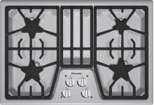 30-Inch Masterpiece® Gas Cooktop SGS304FS