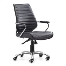 Enterprise Low Back Office Chair Black