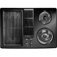 Jenn-Air® Designer Line Modular Electric Downdraft Cooktop, 30""