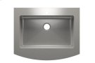 """Classic+ 000151 - farmhouse stainless steel Kitchen sink , 30"""" × 18"""" × 8"""" Product Image"""