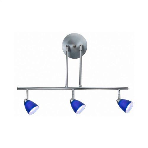 3 Lights,Serpentine light, 120V, GU-10, 50W each,bulbs included