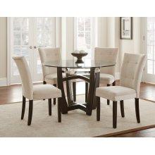 "Matinee Parsons Chair, Chocolate, 18"" x 25"" x 38"""
