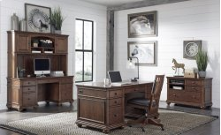 "66"" Credenza Desk Product Image"