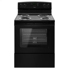 Amana® 30-inch Amana® Electric Range with Self Clean - Black