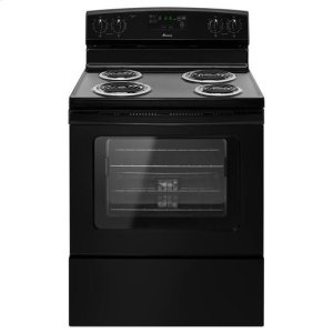 AmanaAmana(R) 30-inch Amana(R) Electric Range with Self Clean - Black