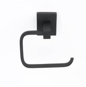 Contemporary II Single Post Tissue Holder A8466 - Matte Black Product Image