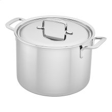 Demeyere 5-Plus Stainless Steel 8-qt Stock Pot