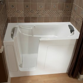 Premium Series 30x60 Air Spa Walk-in Tub, Left Drain  American Standard - White