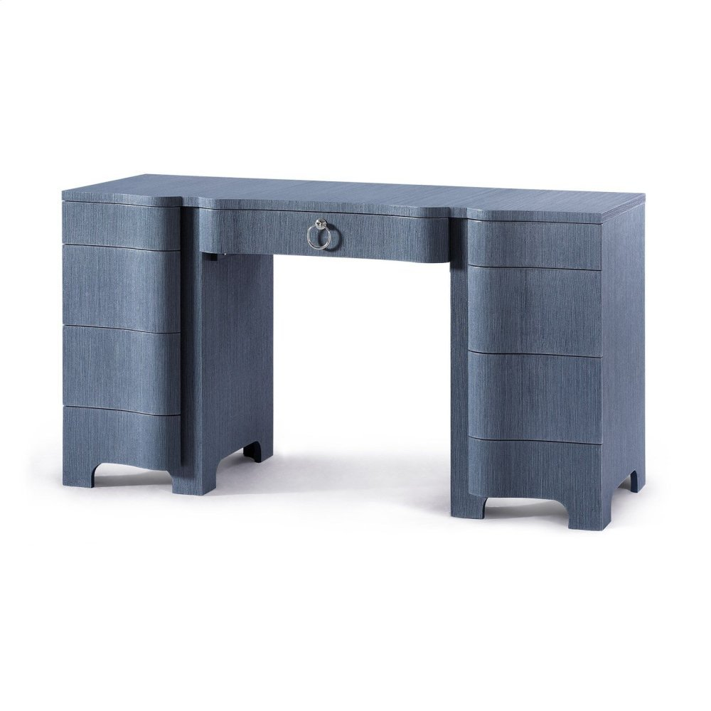 Bouquet Desk, Navy Blue
