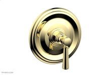 "HEX TRADITIONAL 1/2\"" Mini Thermostatic Shower Trim 4-098 - Polished Brass"