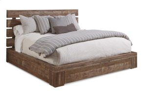 Epicenters Queen Williamsburg Platform Storage Bed