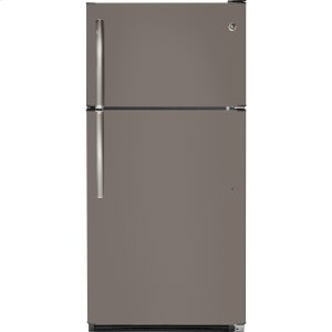 GE®20.8 Cu. Ft. Top-Freezer Refrigerator