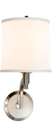 Visual Comfort BBL2023SS-S Barbara Barry Westport 1 Light 8 inch Soft Silver Decorative Wall Light