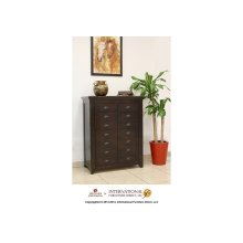 Apothecary Cabinet w/4 Drawers, 2 doors