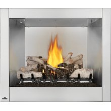 Riverside 36 Clean Face , Stainless Steel , Natural Gas